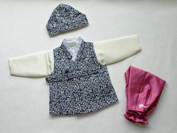 new! modern style BOY dol hanbok