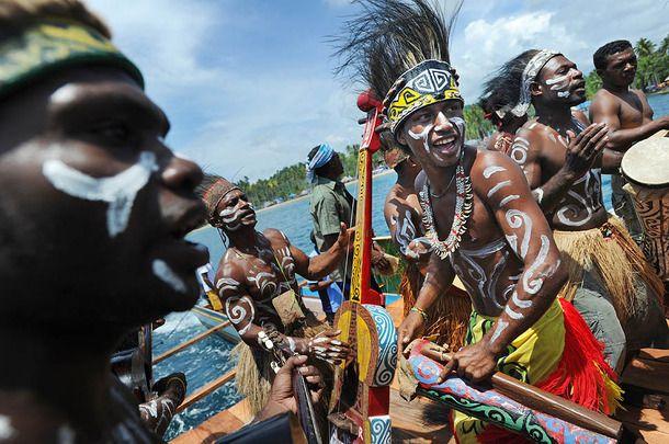 raja ampat, ancient, suku, indonesia