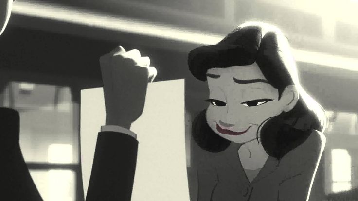 Paperman - full HD (Original) I saw this a while ago but Carmel's paper theme reminded me of it! I love that Pixar movies don't always have words but can still make you cry