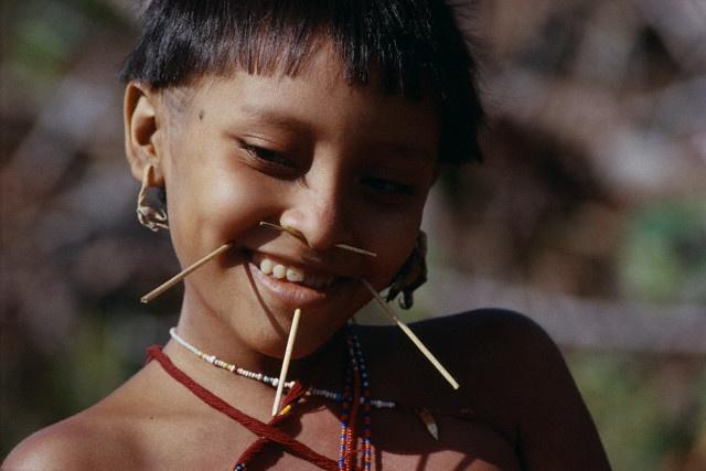 Young Yanomami
