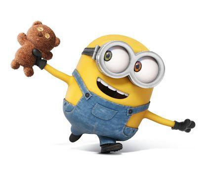 minions bob with teddy bear - Google Search