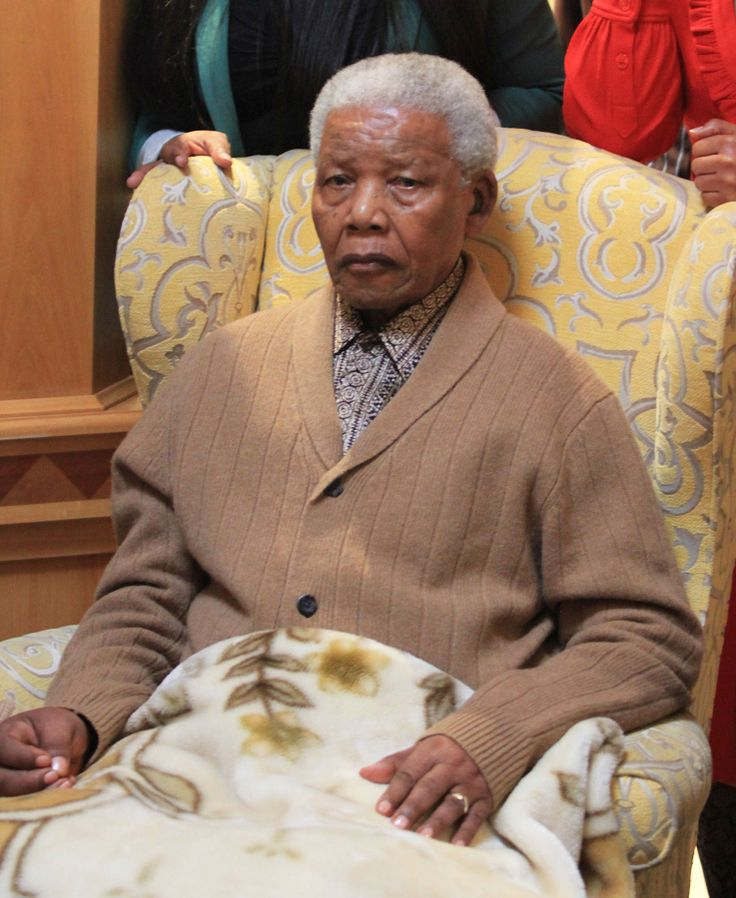 Our Tata - in his nineties, but still a man of great dignity.