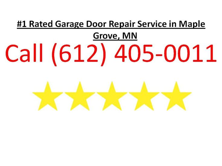 Call us at (612) 405-0011 or visit http://garagedoormn.com/garage-door-replacement-and-installation-maple-grove/ We are the top rated garage door repair company in Maple Grove MN. We provide garage door repair services garage door installations and garage door replacements. No job is too big or small!  We service the entire Minneapolis-St. Paul area as well as the surrounding suburbs. If you garage door has come off the track you have a broken spring a broken garage door cable your garage…