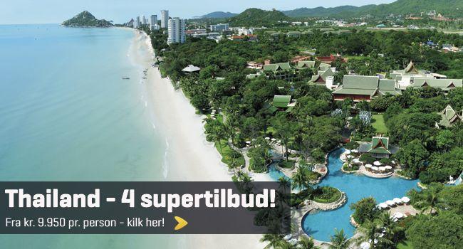 Special tilbud til Thailand – Spar op til kr. 2.500. Phuket, Krabi, Phi Phi Islands og Koh Yao Yai.