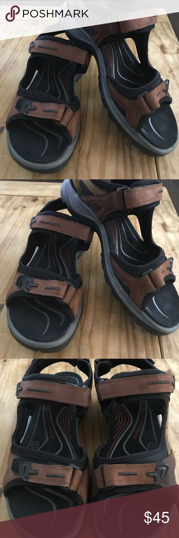 Ecco Sandals Size 40 Excellent! Ecco Shoes Sandals