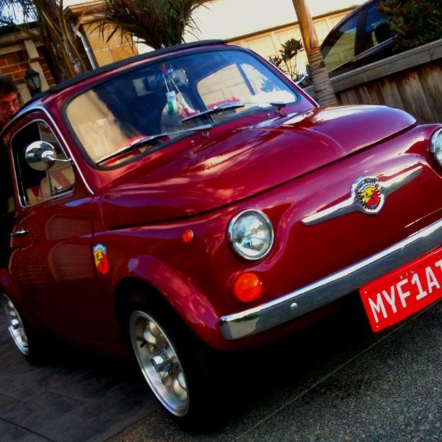 Fiat 500 bello mio!