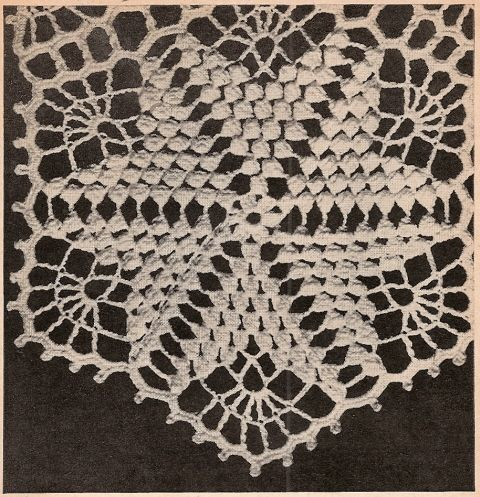 14 best vintage crochet bedspread images on pinterest crocheted star dust crocheted bedspread pattern vintage 1949 dt1010fo