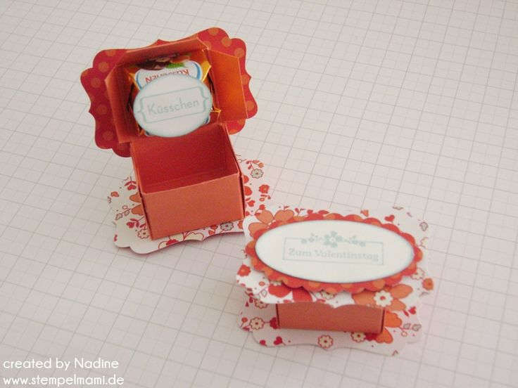 Anleitung Tutorial Kuesschen Box Goodie Give Away Stampin Up