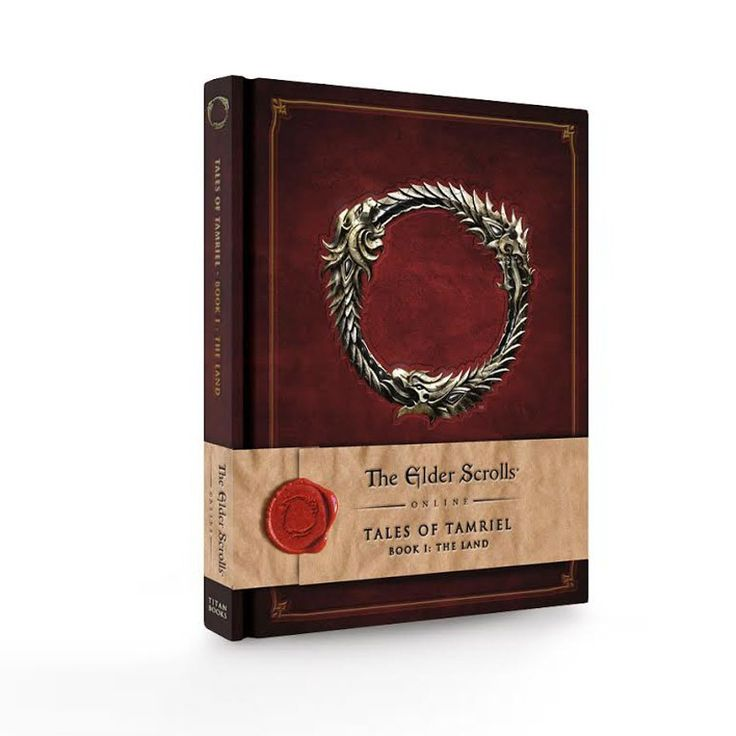 """PURCHASED   For the first time in print, step into the fantasy world of The Elder Scrolls Online: Tales of Tamriel - Vol. I: The Land takes readers on an adventure throughout the war-torn landscapes and battlefields of Tamriel, featuring a horde of in-game texts and exclusive artwork. Lavishly bound and produced, this series of books is the definitive guide to lore from the Elder Scrolls Online.  Hardcover, 232 pages Size: 10 x 7 3/4"""""""