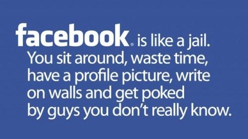 So true: Quotes, Facebook, Funny Stuff, So True, Humor, Funnies, Jail