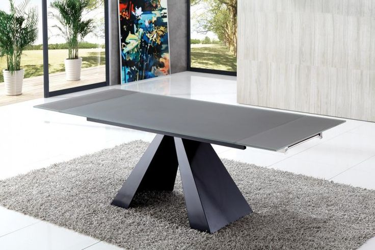 Eliot Drive Extending Glass Dining Table | Modenza Furniture