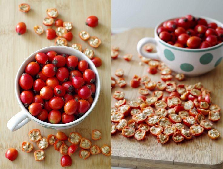 Cześć ludzie! :) Jest jesień, to i owoce są. Było już o jarzębinówce  (której, nawiasem mówiąc, dalej nie zrobiłam), o soku z...