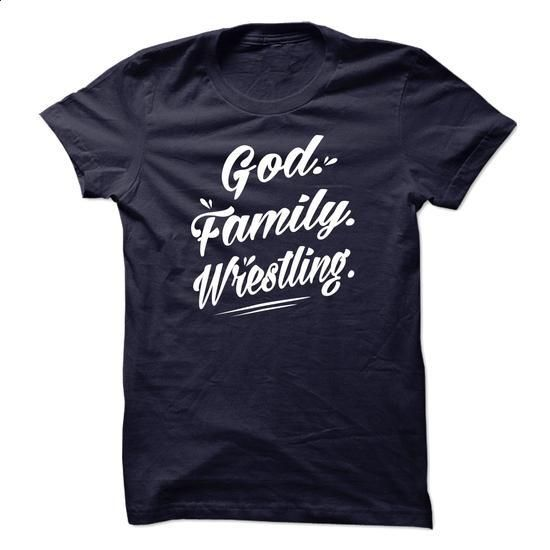 God Familly Wrestling - 1115 - custom tshirts #hoodie #style