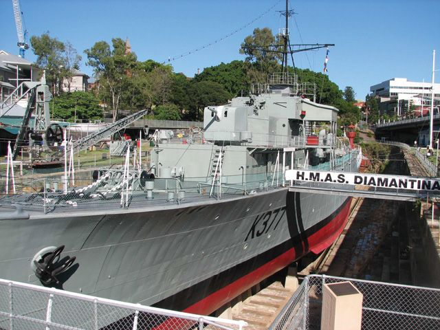 Queensland Maritime Museum: The South Brisbane Dry Dock, the third oldest in Australia, was used to carry out the repairs, maintenance and refitting of ships from 1881 until the early 1970s, when the Queensland Maritime Museum was established by volunteers in 1973 #boh2014 #unlockbrisbane #brisbane #discoverbrisbane