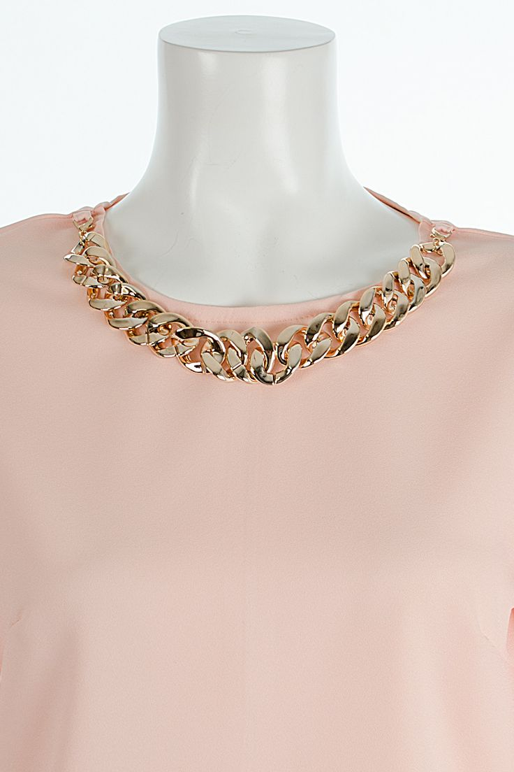 Coleen Necklace Bell Sleeve Top Nude http://www.fuchia.co.uk/products/clothing/tops/coleen-necklace-bell-sleeve-top-nude.aspx