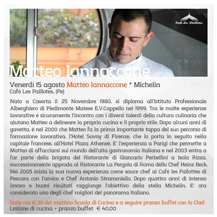 Matteo Iannaccone in Café Les Paillotes