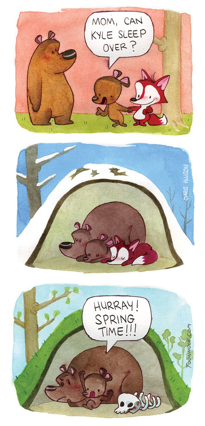 Best Humor Images On Pinterest Comics Funny Things And - Illustrator puts funny twist on seriously relatable everyday situations