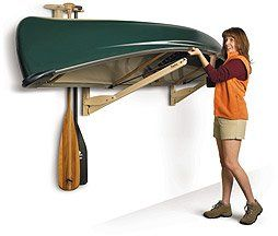 Canoe Roost Storage Rack by Talic