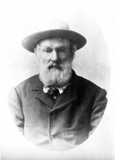 Billy Barker, the creator of Barkerville.