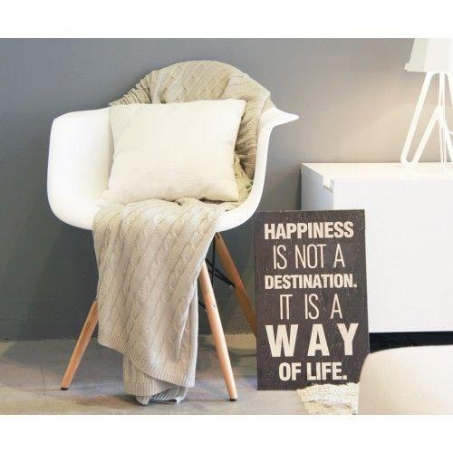 Sweet silla c/brazos blanca/natural Kenay home, 90€