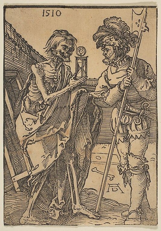 death and the soldier...albrecht durer