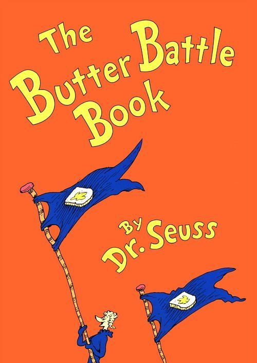 The Butter Battle Book by Dr Seuss Activities and Lesson Plans