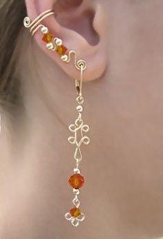 Coco 的美術館: 酷炫的耳環設計
