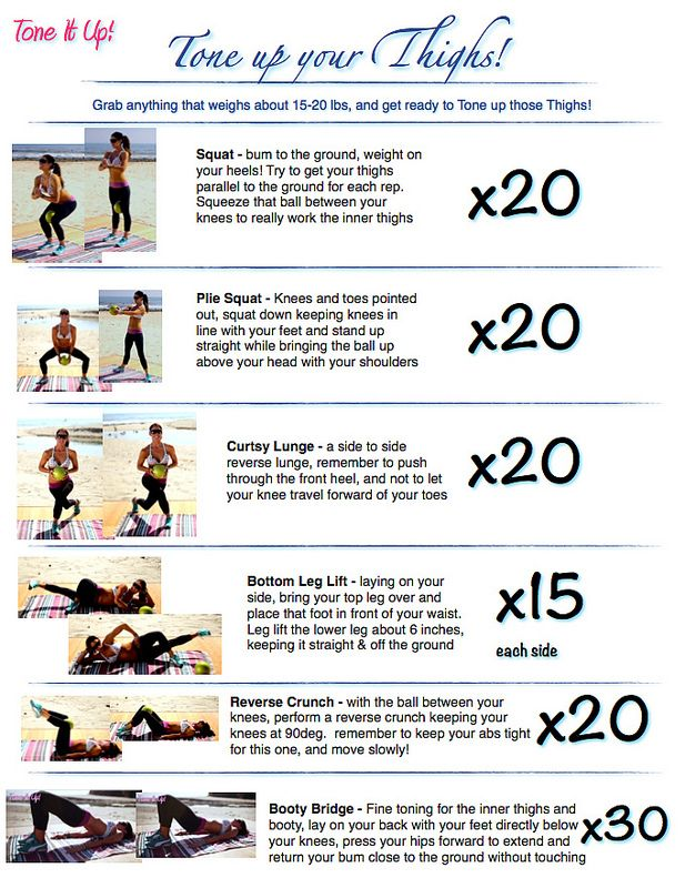 Best 25+ Back Thigh Workouts ideas on Pinterest | Lean thighs ...