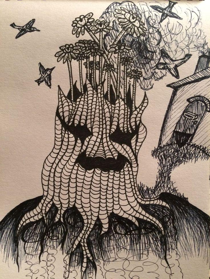 Old tree by Natalie R