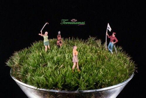 Terramamas golf sezonu açıldı.