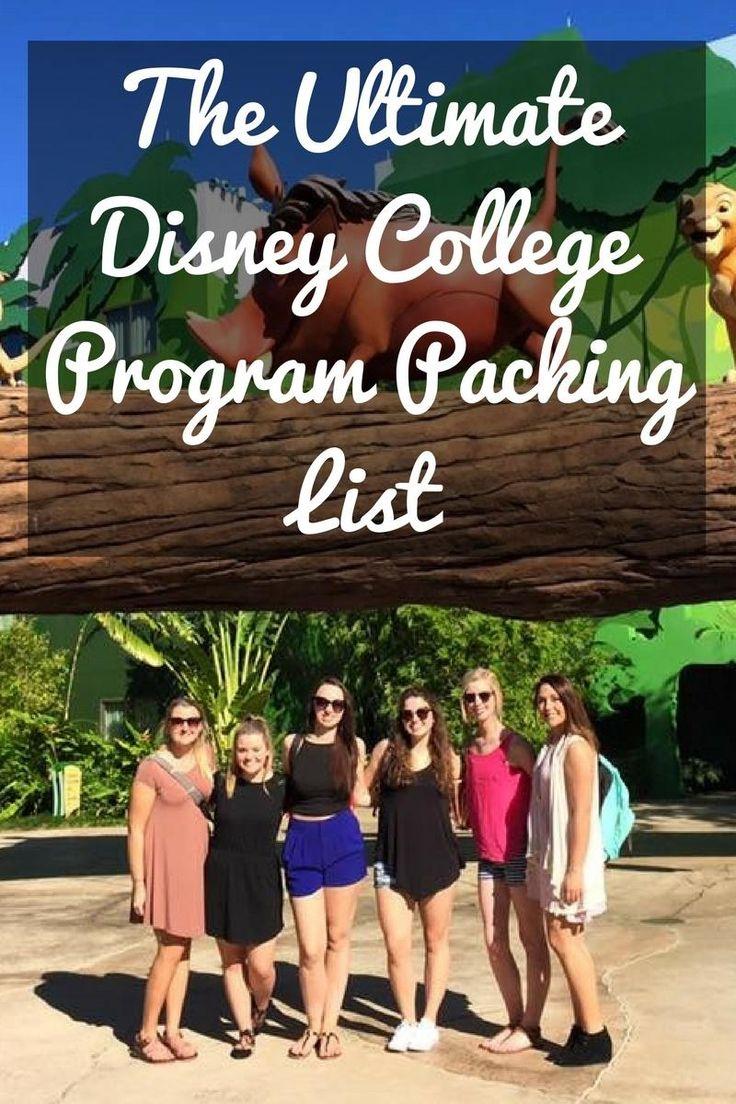 The Ultimate Disney College Program Packing List – Love Megan June