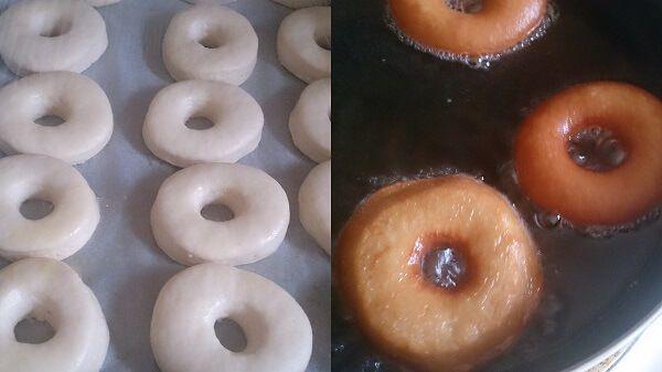 Homemade Eggless Donuts or Doughnuts - Binjal's VEG Kitchen