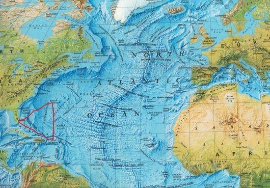 De Bermuda driehoek en de mysterieuze verdwijningen van schepen en vliegtuigen - Tallsay.com