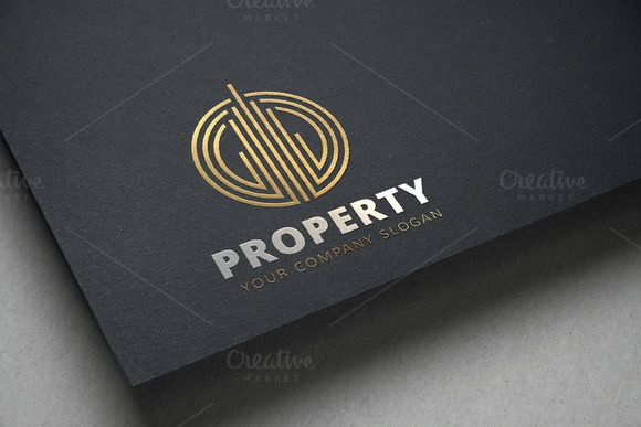 Property Logo by Super Pig Shop on @creativemarket