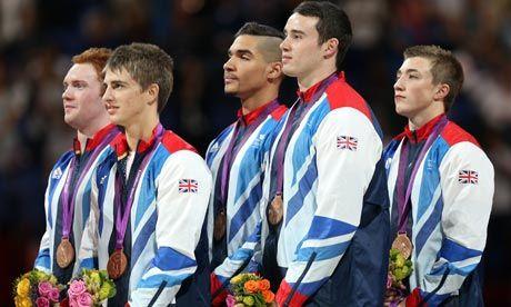 Men's gymnastics team take the bronze medal (The Guardian)