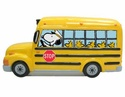 Peanuts, Snoopy, School Bus