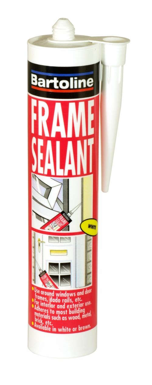 Bartoline frame sealant cartridge white 310ml
