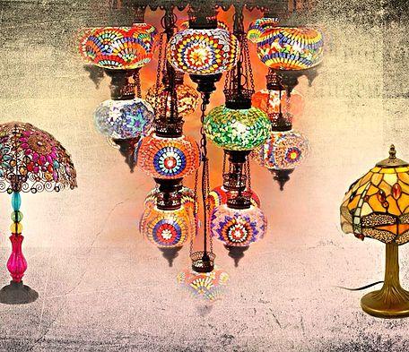 Lámparas Turcas, decoración, artesanía. Podrás comprar todos estos productos online.
