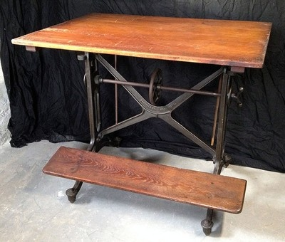 Vintage Antique Keuffel Esser Machine Age Cast Iron Industrial Drafting  Table | eBay | Once Upon a Time | Pinterest | Vintage, Antiques and  Industrial - Vintage Antique Keuffel Esser Machine Age Cast Iron Industrial