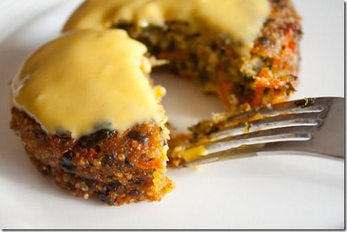 Loaded Quinoa Veggie Burgers... Made these for dinner tonight. DELICIOUS! This is currently one of my favorite blogs.