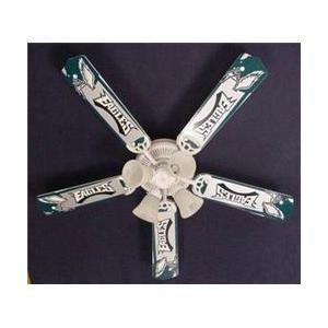 Ceiling Fan Designers 52FAN-NFL-PHI NFL Philadelphia Eagles Football Ceiling Fan 52 inch - Hubby's style!