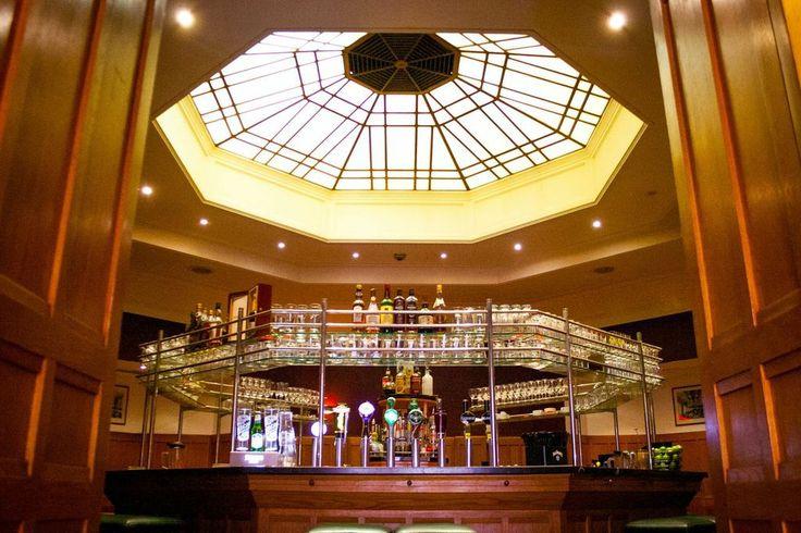 Octagon bar at the Clarence, Dublin