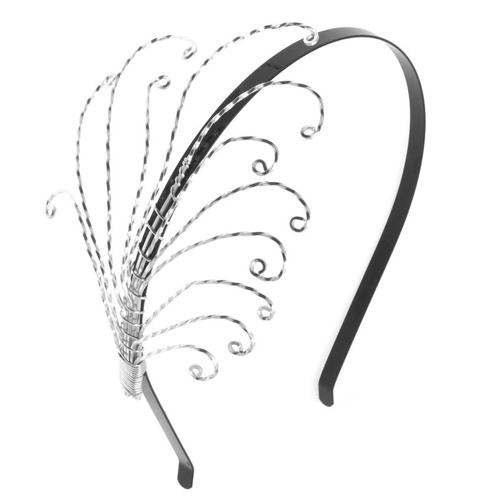 Tutorial - How to: Wire Wrapped Feather Headband | Beadaholique