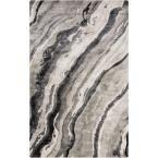 Orsha Charcoal (Grey) 3 ft. 3 in. x 5 ft. 3 in. Indoor Area Rug