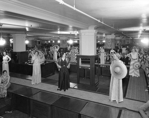 A lovely loungewear fashion show at our Hudson's Bay Company downtown Vancouver store | May 31, 1932 #tbt