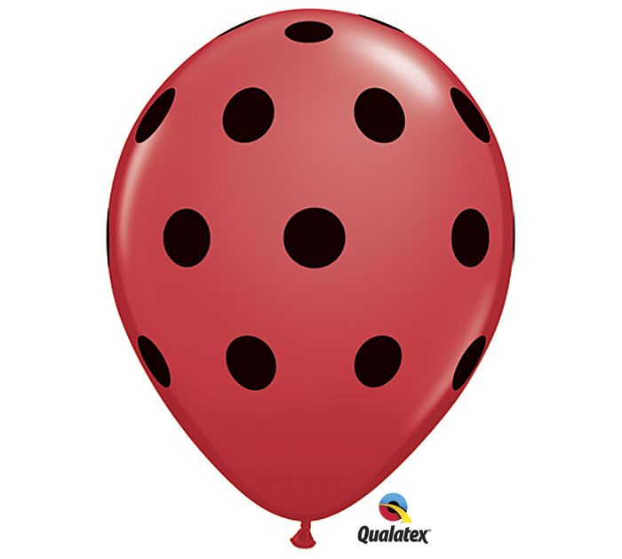 Use a bunch of this balloon from #burtonandburton for the previous pin - ladybug birthday party! #ladybugs #birthdays