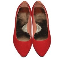 """""""Shoeless"""" - Kali Shoes #genuin #leather #flats #red #love #kalishoes"""