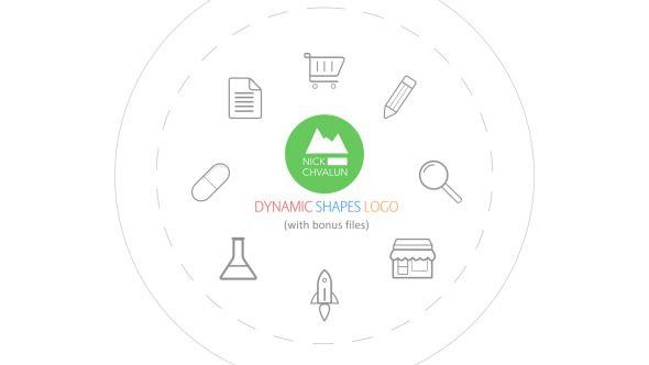 Dynamic Shapes Logo Reveal