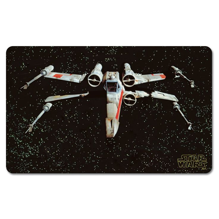 Star Wars X-Wing Fighter Breakfast Board.  Breakfast boards are so continental! They are very big in Germany (for children and adults alike) where they are traditionally used to serve breakfasts of cold meats, cheeses, preserves and bread. Whilst we may not share these breakfast habits, they serve as excellent cutting boards or serving platters to be used at any time of day.