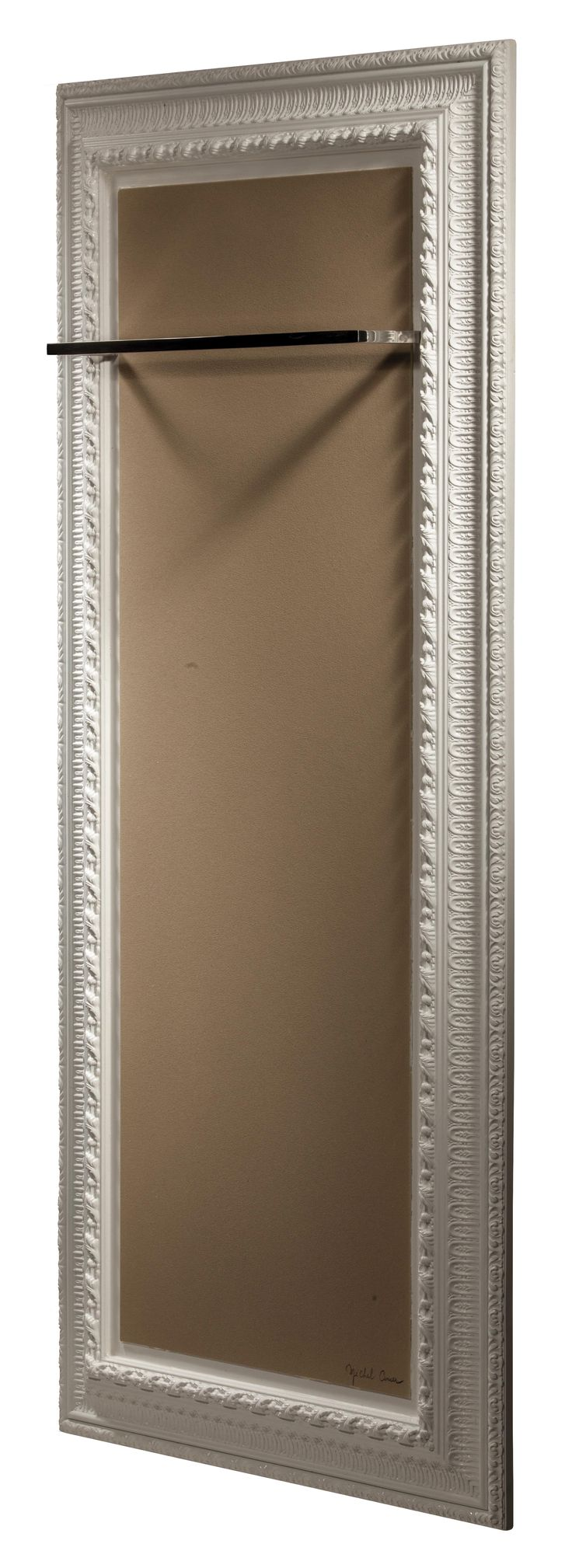 A Towel Warmer With A Design Inspired From The French Monarchy #Towelwarmer  #radiator #
